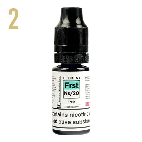 Frost Menthol E-liquid By Element