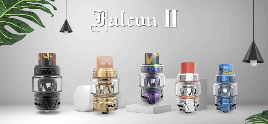The HorizonTech Falcon II tank has been designed for sub ohm vaping.