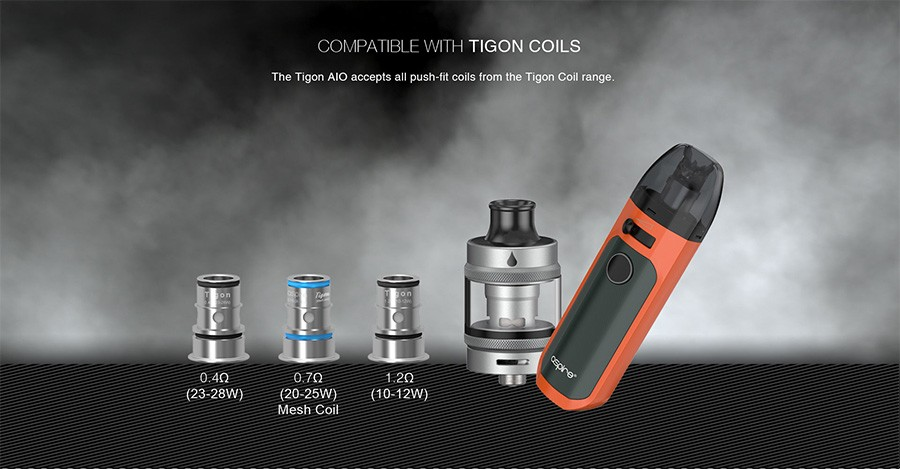 Experience enhanced or reduced cloud production to suit your style, with the range of Tigon replacement coils.