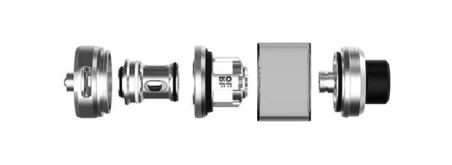 The OFRF NexMESH is an advanced sub ohm vape tank with a 2ml e-liquid capacity.