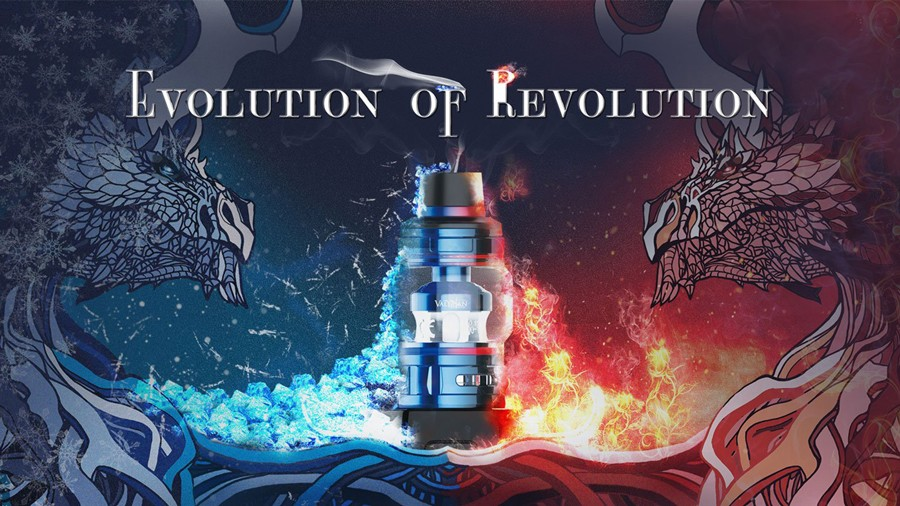 The Uwell Valyrian 2 tank is a 2ml sub ohm vape tank