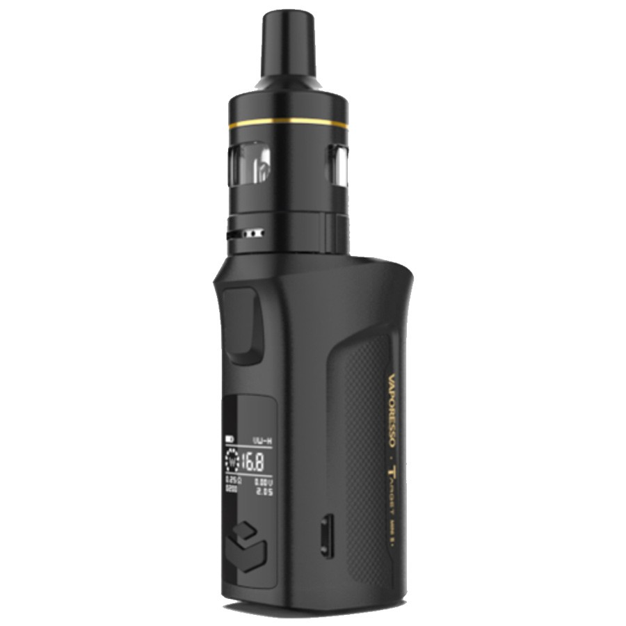 The Vaporesso Target Mini 2 kit is a small yet powerful device