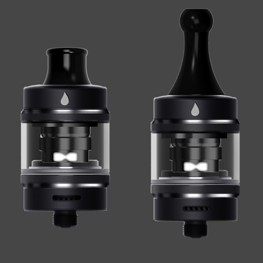 The Aspire Tigon vape tank features a 2ml capacity and can be used for MTL or DTL vaping