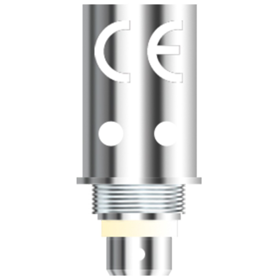 The Aspire General BVC coils are long-lasting and should be paired with high PG e-liquids.