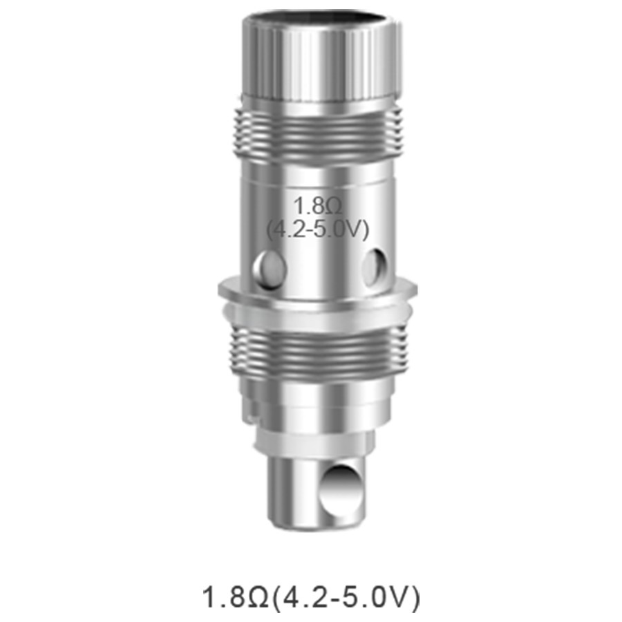 The Aspire Nautilus BVC vape coils create small amounts of vapour for MTL vaping
