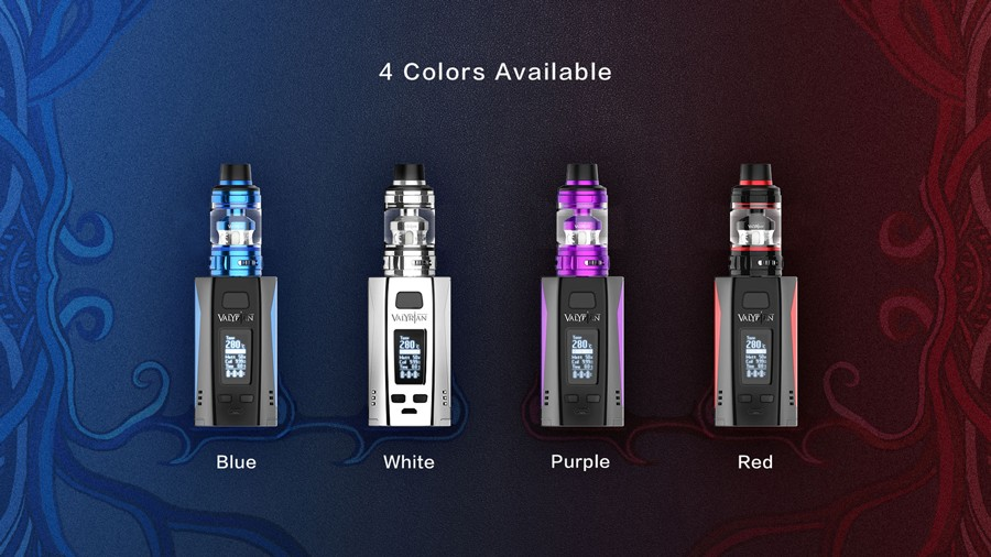The Uwell Valyrian 2 kit is a powerful sub ohm vape kit with a 300W output