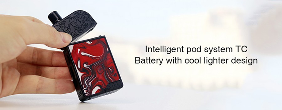The Purge Ally kit utilises a large capacity 950mAh battery.