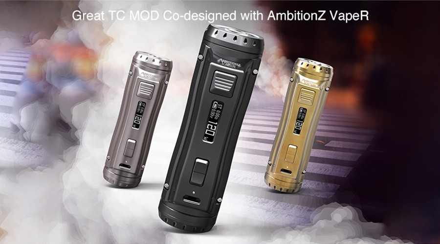 The EhPro Cold Steel vape device is compact and has been designed for sub ohm vaping