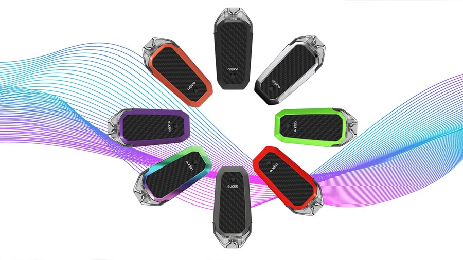 The Aspire AVP pod starter kit is compact and simple to use