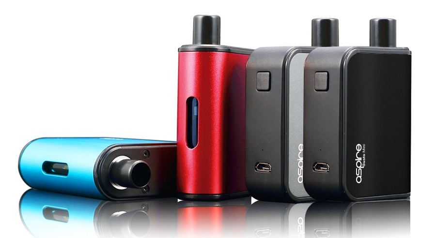The Aspire Gusto pod kit is compact and simple to use