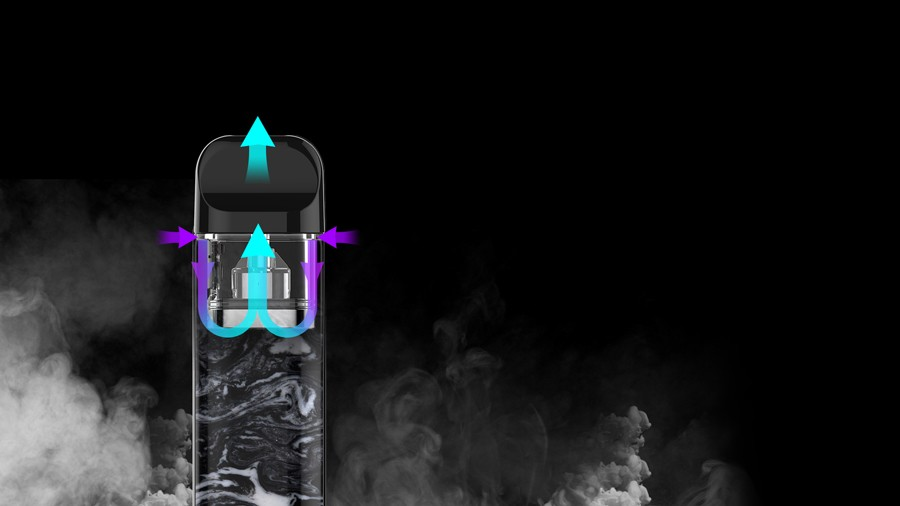An innovative U-shaped airflow enables the Novo 2 to deliver a consistent vape.