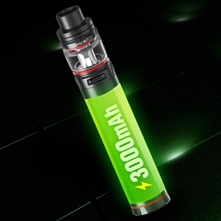 A large-capacity 3000mAh battery makes the Stick V9 a high-performance kit.