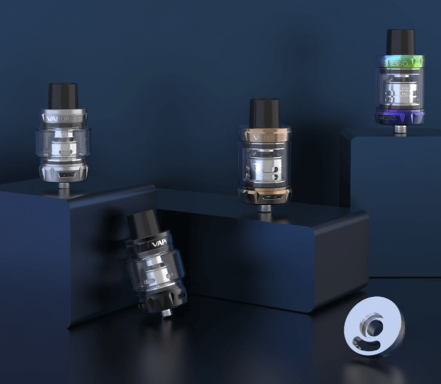 The Vaporesso SKRR-S tank holds 2ml of e-liquid and features top filling