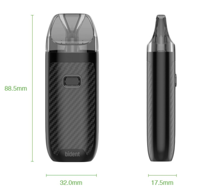 The Geekvape Bident is a refillable pod kit with dual coil technology.