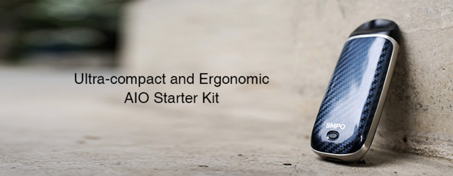 The SMPO starter kit features a sleek construction which is pocket-friendly.