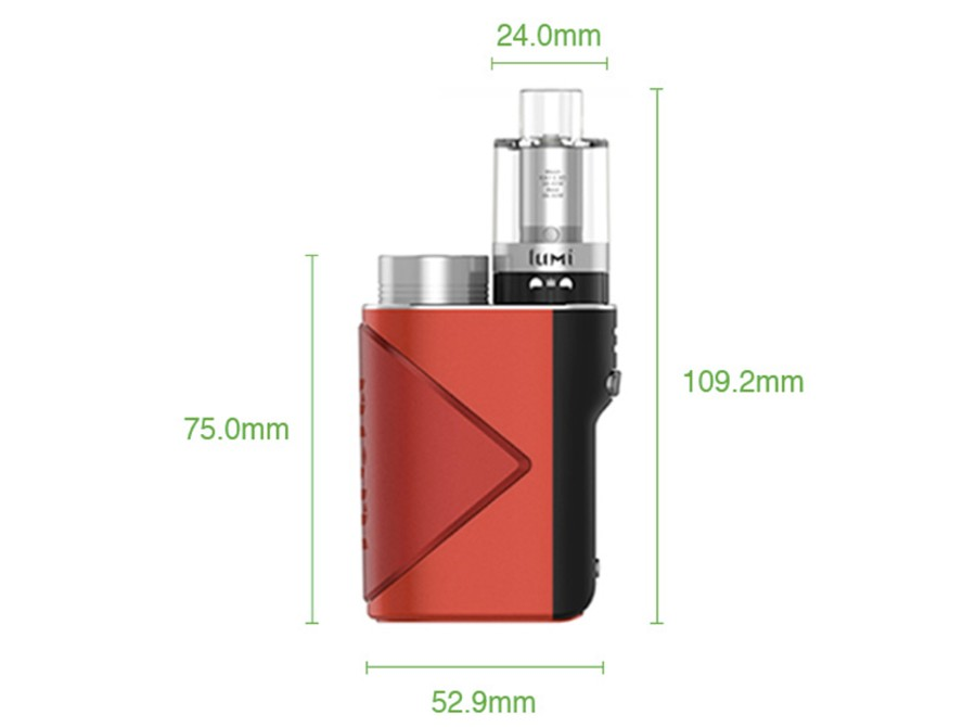 The Geekvape Lucid is a sub ohm vape kit which includes the 2ml disposable Lumi sub ohm tank.