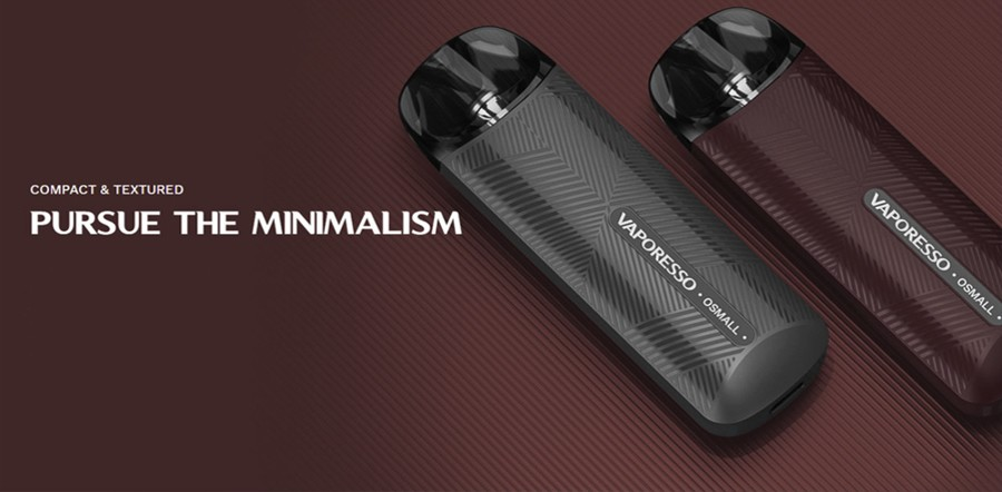 Easy to use, the Vaporesso Osmall features inhale activation.