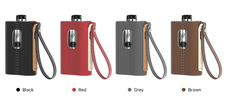 The Aspire Cloudflask kit features a large battery and a single button operation for a simple vape experience.