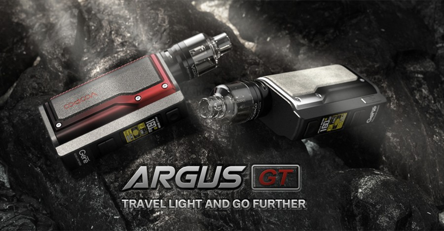 The VooPoo Argus GT vape kit combines a high power output with a lightweight build for an intelligent sub ohm kit.