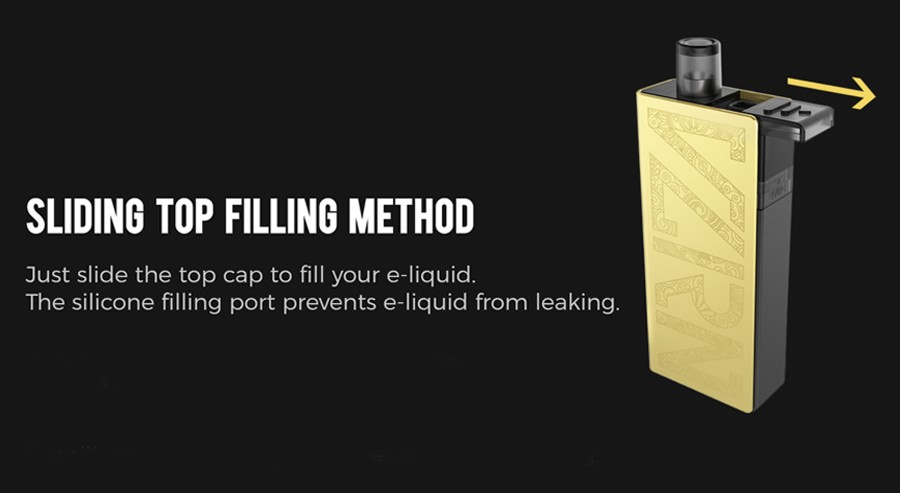 Uwell Valyrian Pod Kit | Features | Pod Refilling | Vape.co.uk
