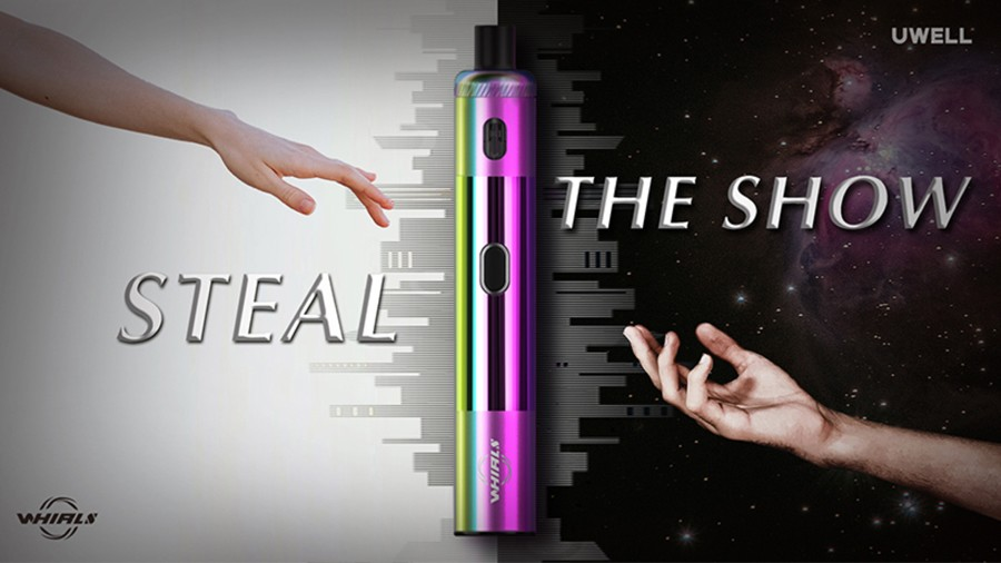The Uwell Whirl S starter kit is a compact kit that's simple to use and offers an ideal introduction to vaping.